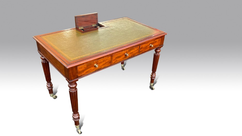 a regency mahogany chamber writing table by gillows